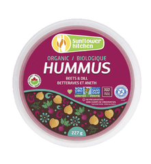 Sunflower Kitchen Organic Hummus Beets & Dill
