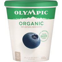 Olympic Organic Yogurt Blueberry