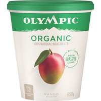 Olympic Organic Yogurt Mango