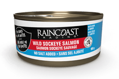 Raincoast Wild Sockeye Salmon (No Salt Added)