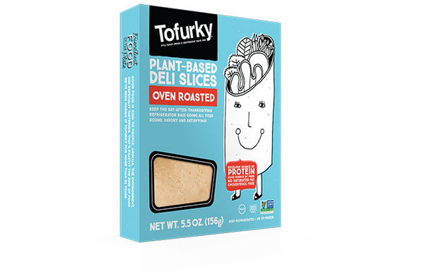 Tofurky Plant-Based Deli Slices Oven Roast
