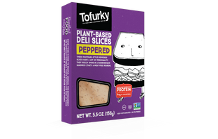 Tofurky Plant-Based Deli Slices Peppered