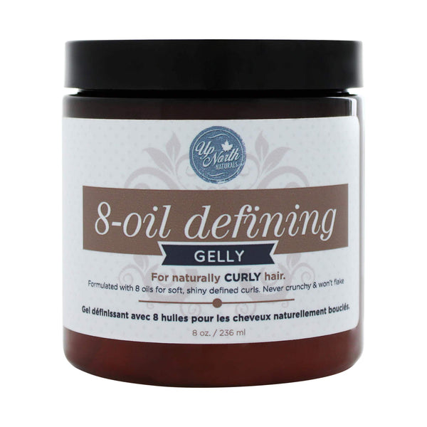 Up North Naturals 8-oil Defining Hair Gelly