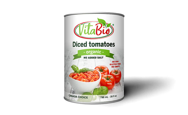 VitaBio Organic Diced Tomatoes (No Added Salt) 796 ml
