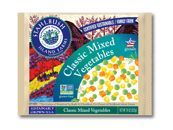 Stahlbush Frozen Classic Mixed Vegetables