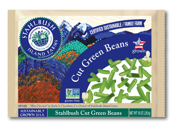 Stahlbush Frozen Green Beans Cut