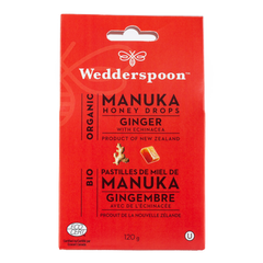 Wedderspoon Ginger Echinacea Manuka Honey Drops