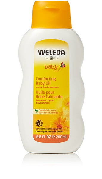 Weleda Comforting Calendula Baby Oil 200 ml