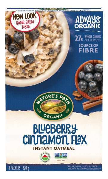Nature's Path Oatmeal Blueberry Cinnamon 8 Pack