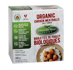 Yorkshire Valley Farms Organic Chicken Meatballs
