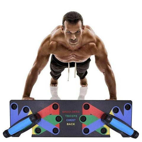 9 in 1 Push Up Board Home Workout | Home Gym Pushup Rack Board