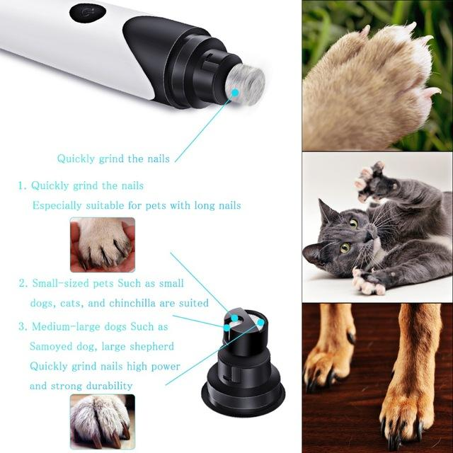 Best PowerPaw™ Electric Pet Nail Trimmer for Sale-Latest Elite