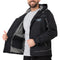 WESTCOAST Men's Functional Outdoor Rain Jacket Sport