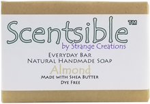 Load image into Gallery viewer, Everyday Natural Handmade Bar Soap – Almond – Dye Free