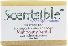 Load image into Gallery viewer, Everyday Natural Handmade Bar Soap – Mahogany Santal - Dye Free