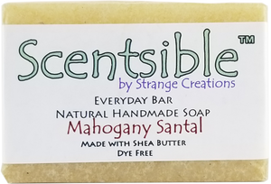Everyday Natural Handmade Bar Soap – Mahogany Santal - Dye Free