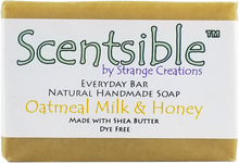 Load image into Gallery viewer, Everyday Natural Handmade Bar Soap – Oatmeal, Milk & Honey - Dye Free