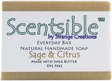 Load image into Gallery viewer, Everyday Natural Handmade Bar Soap – Sage & Citrus - Dye Free