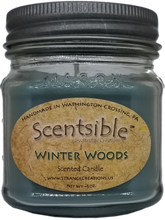 Load image into Gallery viewer, Winter Woods Scented Candle