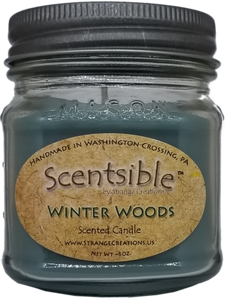 Winter Woods Scented Candle