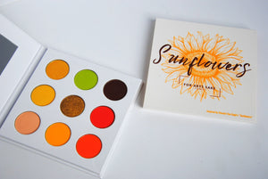 Sunflowers Eyeshadow Palette - For Arts Sake Cosmetics
