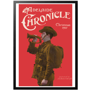 The Adelaide Chronicle Christmas 1917 Poster