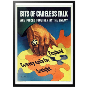 Bits of Careless Talk Poster