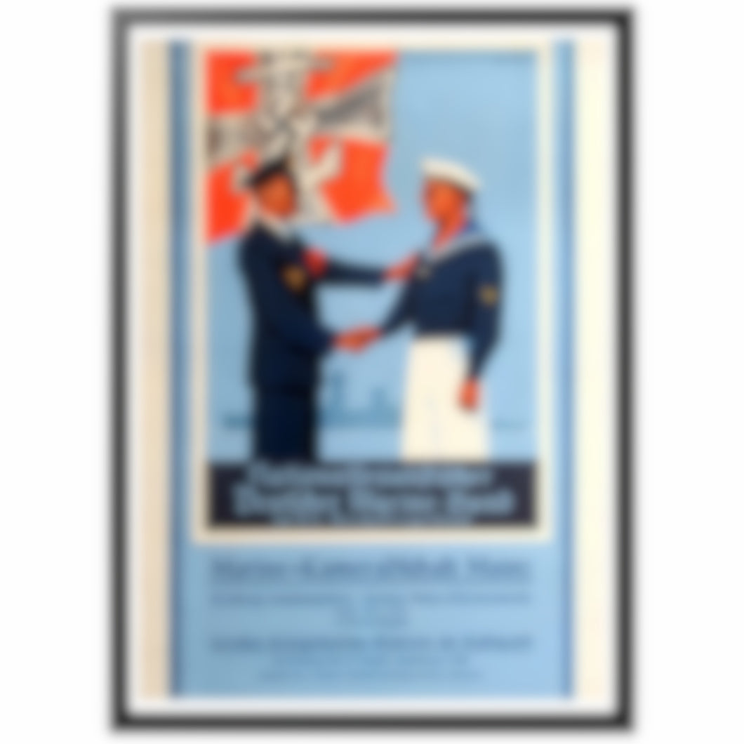 Nationalfozialiftifcher - Deutcher Marine-Bund Poster