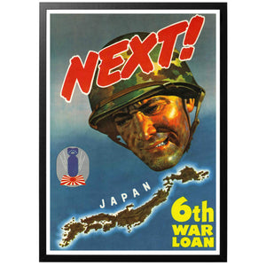 Next! 6th War Loan Poster