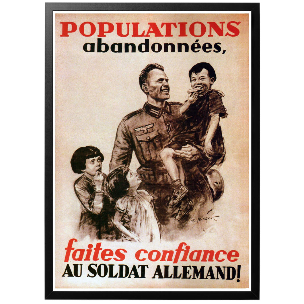 Populations Abandonées Poster