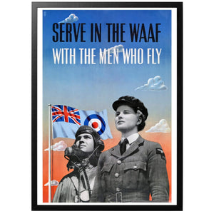 Serve in the WAAF  Poster