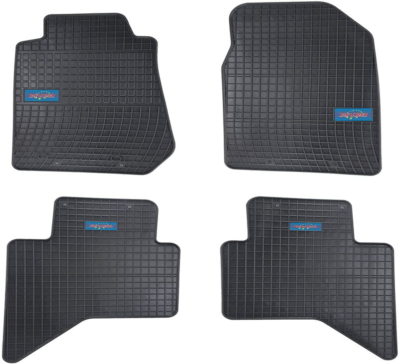 Car Mats For Chevrolet Colorado 2011-2014 - No Smell - Custom set MADE IN EUROPE