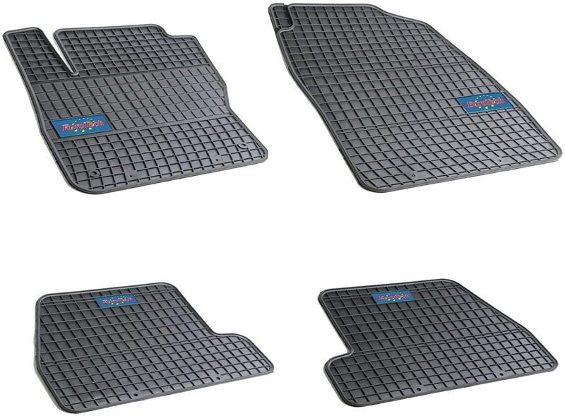 Car Mats For Ford Focus III 2010 - Current - No Smell - Custom Cut 4pc set MADE IN EUROPE