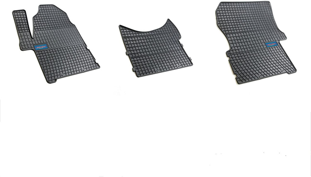 Car Mats For Dodge Sprinter 2009 - Current Mercedes Sprinter 2009 - Current - Freightliner USA 2006 - 2018 - No Smell - Custom Cut 3pc set MADE IN EUROPE