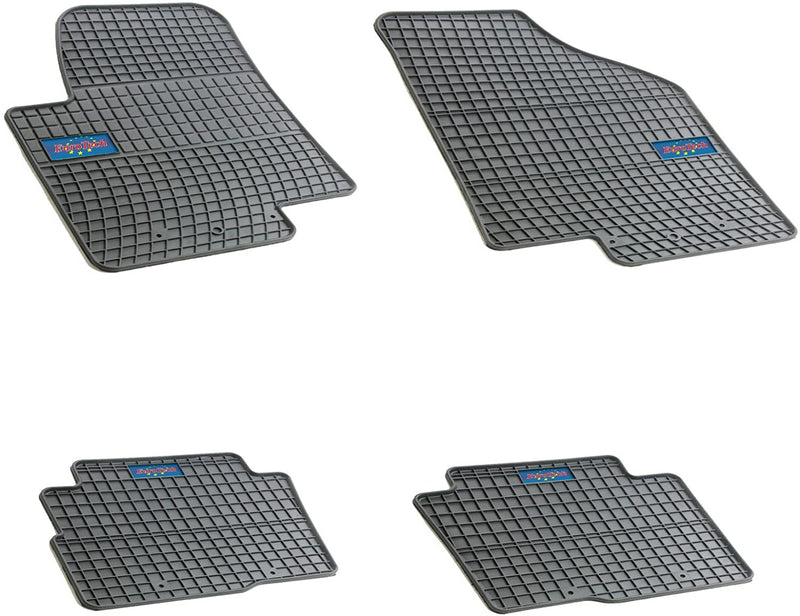 Car Mats For Kia Soul 2009-2013 - No Smell - Custom Cut 4pc set MADE IN EUROPE