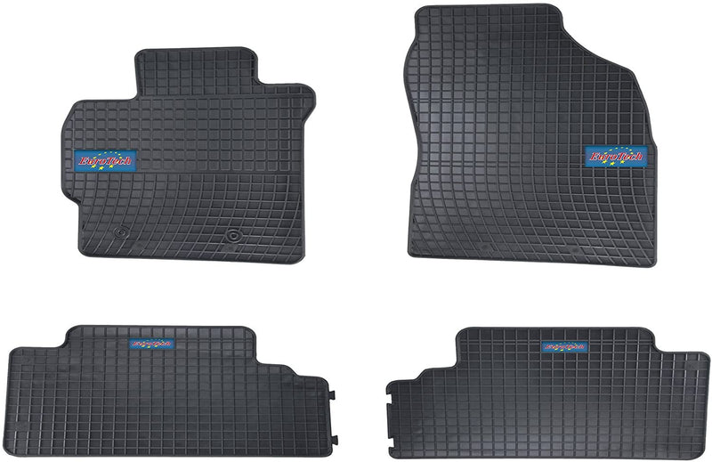 Car Mats For Toyota Corolla X (E14/E15) 2006-2012 - No Smell - Custom set MADE IN EUROPE