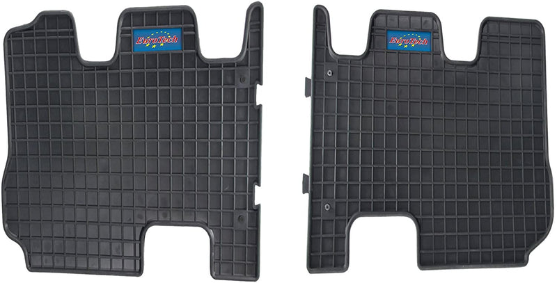 Car Mats For Hyundai Santa Fe III 3rd row 2015 - Current and Kia Sorrento 3rd Row 2015 - Current - No Smell - Custom set MADE IN EUROPE