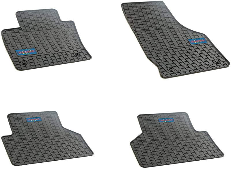Car Mats For Audi Q3 2011 - Current- No Smell - Custom set MADE IN EUROPE