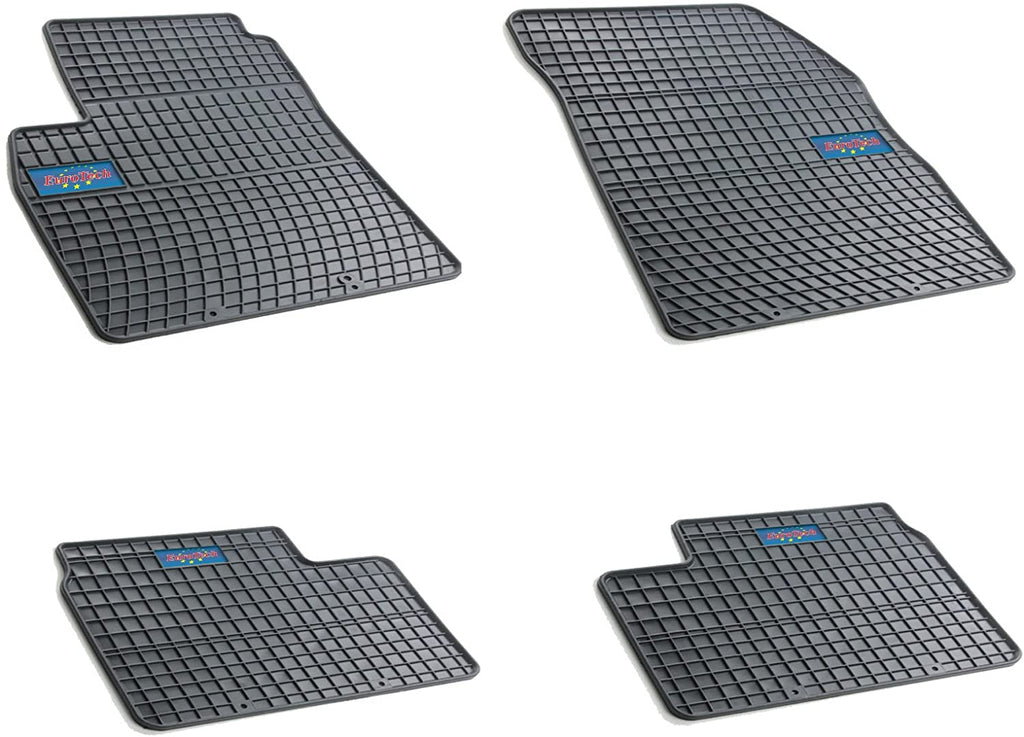 Car Mats For Nissan Micra MK 13 2010 - Current - No Smell - Custom Cut 4pc set MADE IN EUROPE