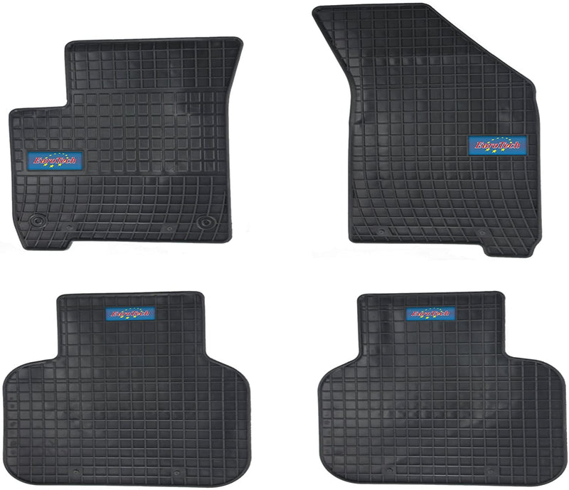 Car Mats for Dodge Journey 2008 - Current - No Smell - Custom Cut 4pc set MADE IN EUROPE