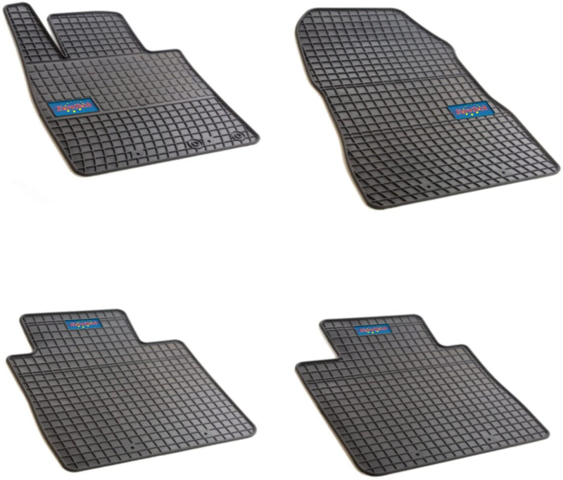 Car Mats For Nissan Note II 2013 - Current - No Smell - Custom Cut 4pc set MADE IN EUROPE
