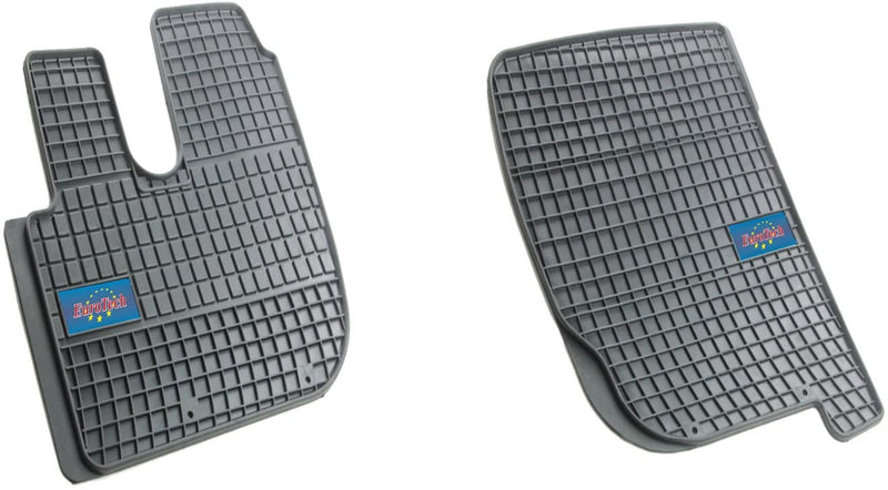 Car Mats For Kenworth DAF LF K Series (K270, K370) 2013 - Current - Peterbilt 220 2013 - Current - No Smell - Custom Cut 2pc set MADE IN EUROPE