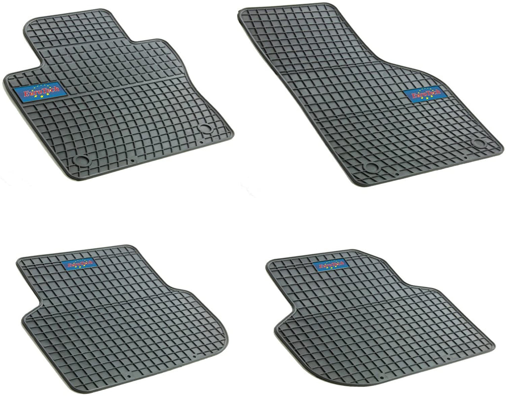 Car Mats For Volkswagen Jetta VI 2011 - Current - No Smell - Custom Cut 4pc set MADE IN EUROPE