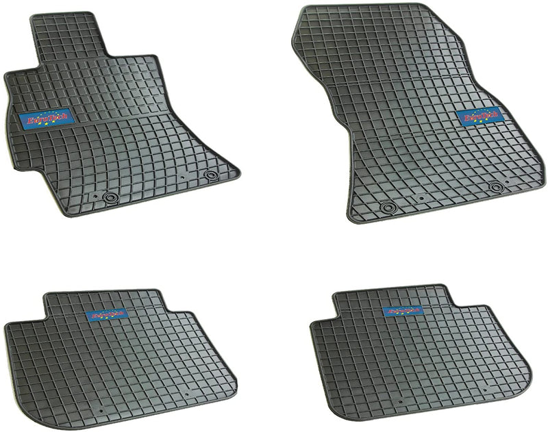 Car Mats For Subaru Forrester IV 2013 - Current and 2009 - Current and Outback 2009 - 2014 - No Smell - Custom set MADE IN EUROPE