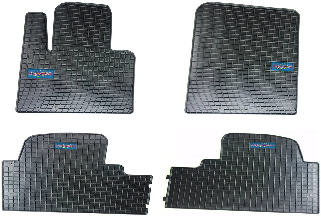 Car Mats For Hyundai Santa Fe III 2015 - Current and Kia Sorrento 2015 - Current - No Smell - Custom set MADE IN EUROPE