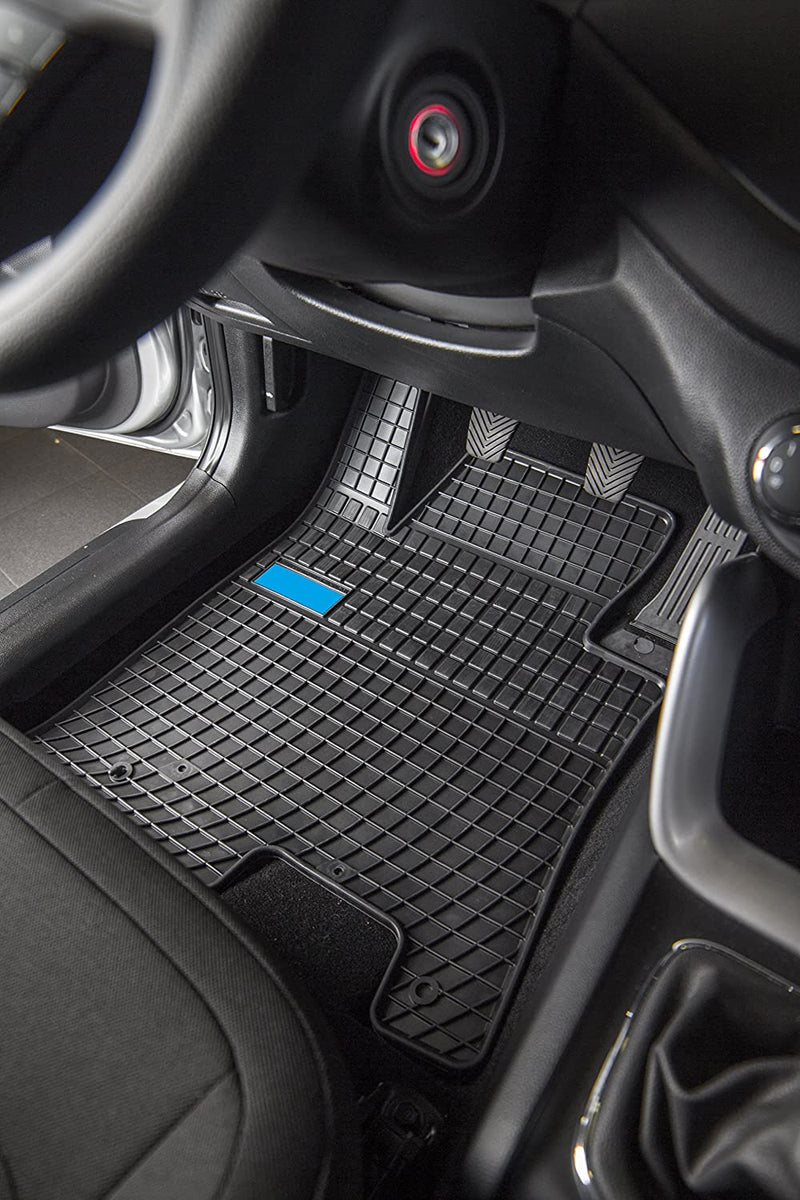 Car Mats For Audi A3 2012 - Current and Golf VII 2002 - No Smell - Custom Cut 4pc set MADE IN EUROPE