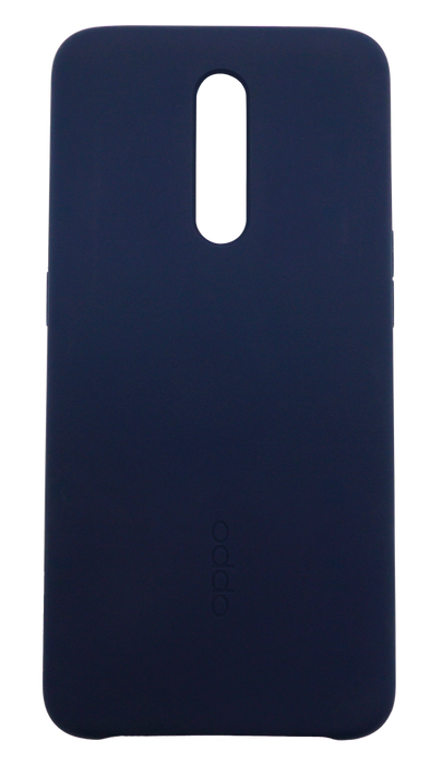 OPPO Liquid Silicone Rubber Protective Case for Reno Z blue