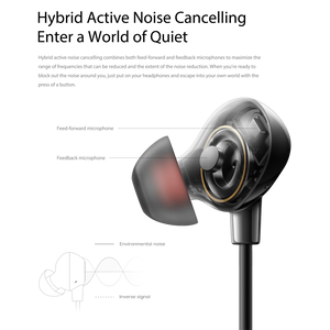 OPPO Enco Q1 Wireless Noise Cancelling In-ear Headphones