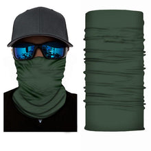 Load image into Gallery viewer, Green Bandanna Face Shield