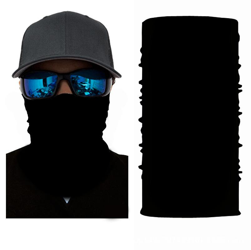Black Bandanna Face Shield